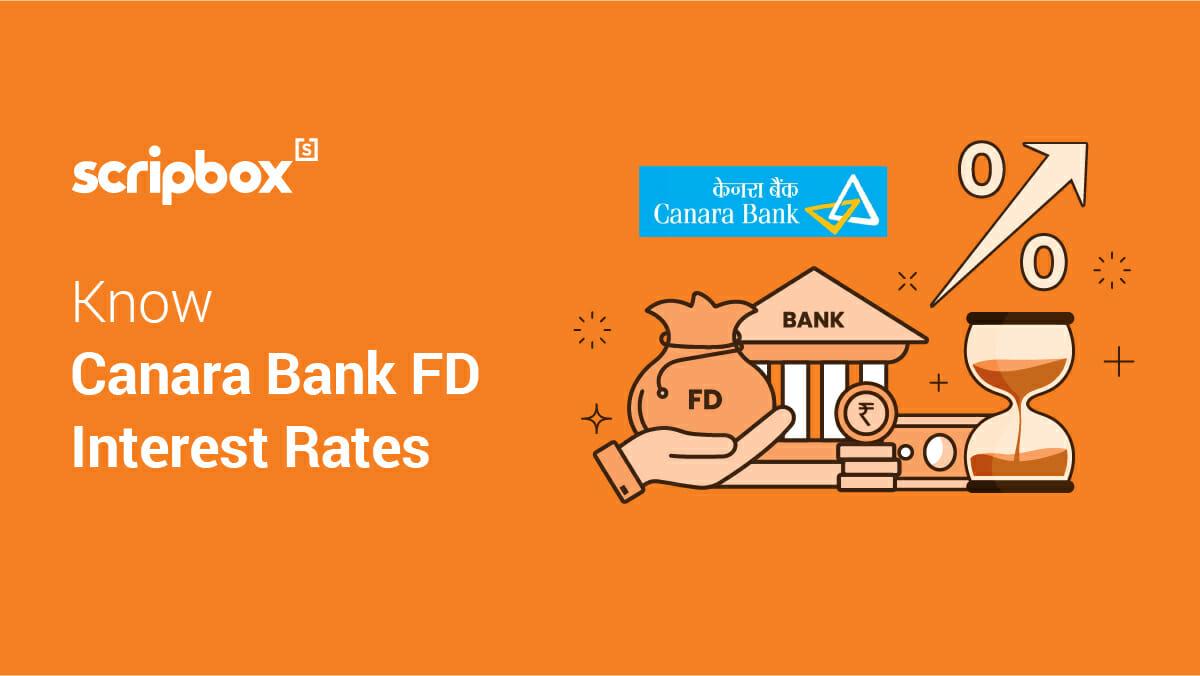 canara bank fd rates