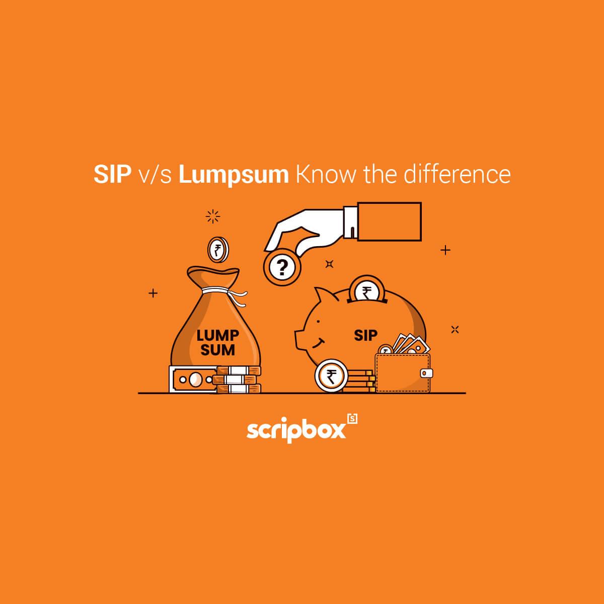 sip vs lumpsum
