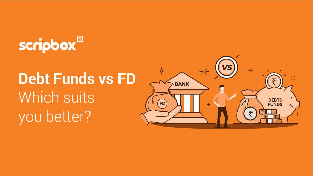 debt funds vs fd