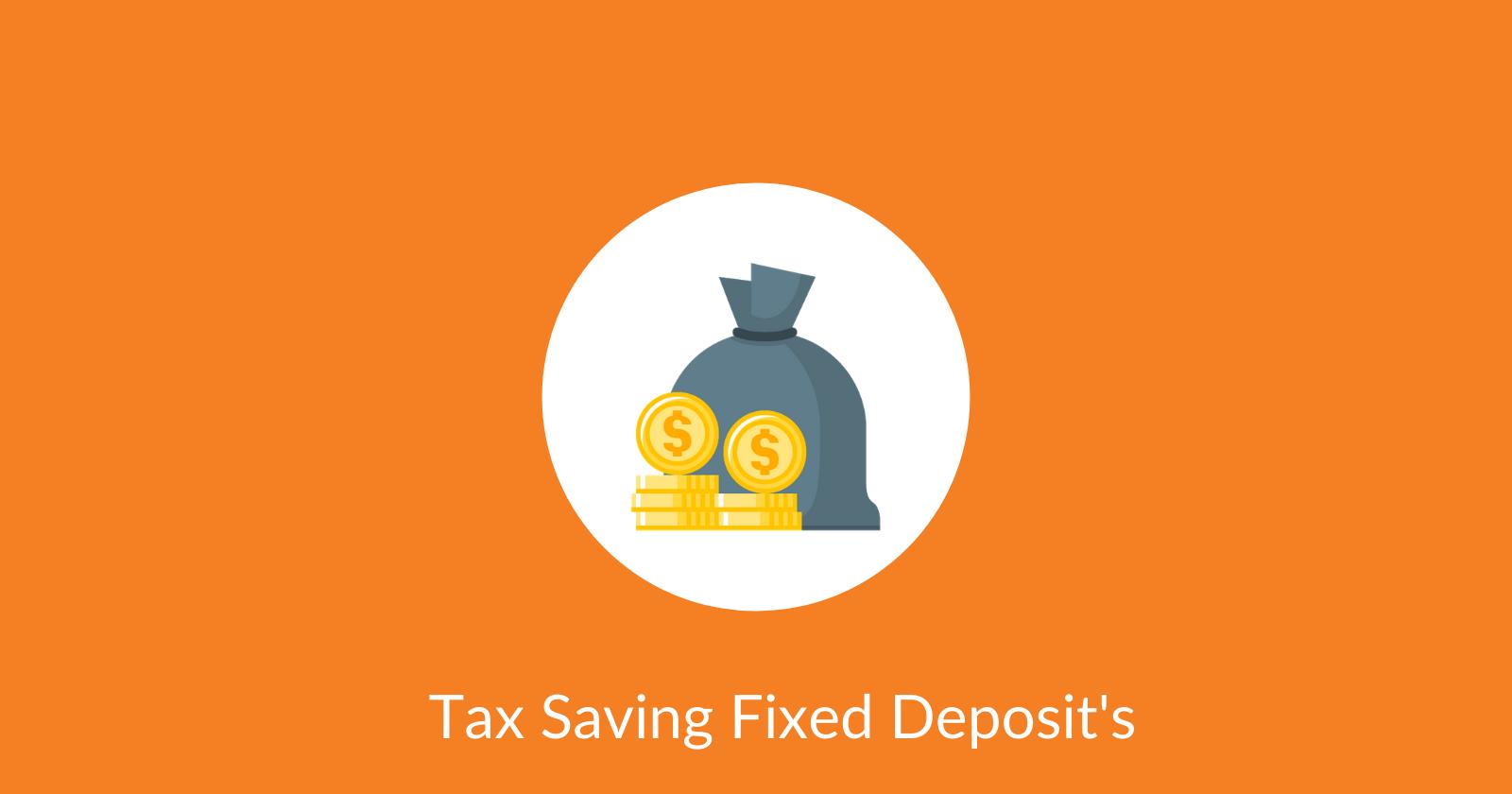 Tax Saving FD