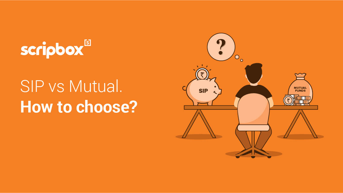difference between sip and mutual fund