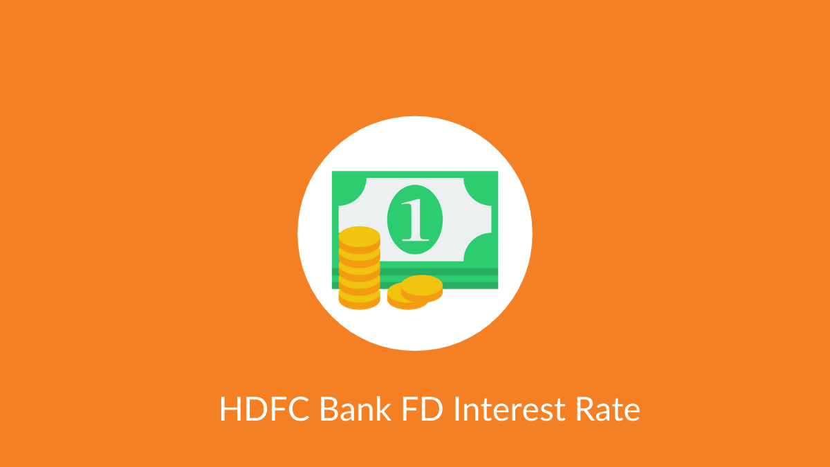 HDFC Bank FD Interest Rate