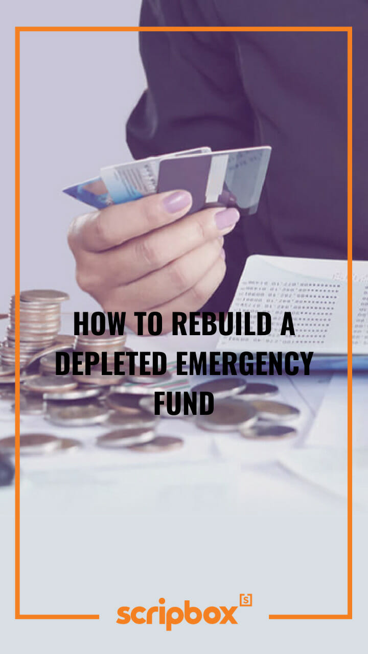 how to rebuild a depleted emergency fund