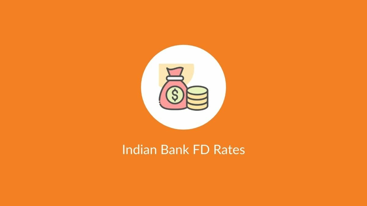 indian bank fd rates