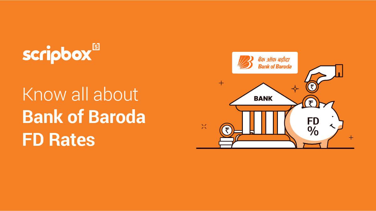 bank of baroda fd interest rates